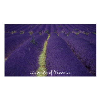 Lavender of Provence Double-Sided Standard Business Cards (Pack Of 100)