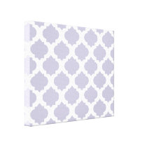 Lavender Ornate Pattern Canvas Print