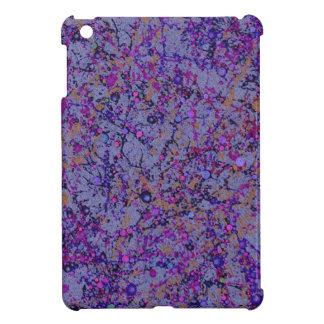 Lavender Paint Splatter Abstract iPad Mini Covers