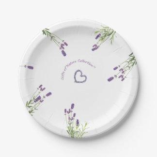 """Lavender Paper Plates 7"""""""