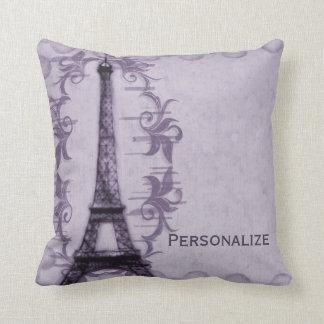 Lavender Paris Grunge American MoJo Pillow