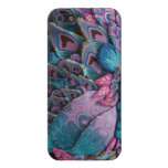 Lavender Peacock Feather I Phone Case Cases For iPhone 5