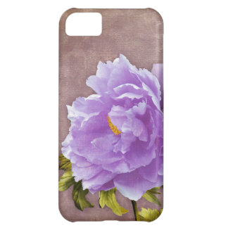 Lavender peonies iPhone 5 case floral peony cover