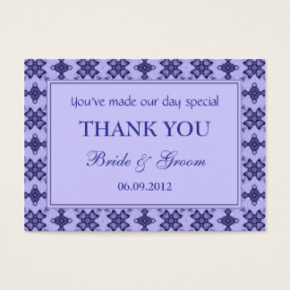 Lavender Personalized Wedding Favor Gift Tags