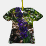 Lavender photo with honeybee ornaments