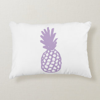 Lavender Pineapple Accent Pillow