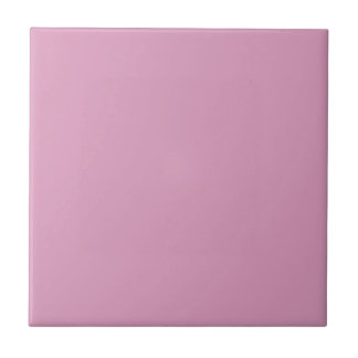Lavender Pink Personalized Purple Trend Background Tile
