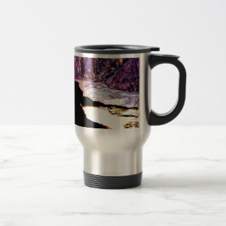Lavender Pit Mine Abstract Mugs