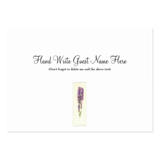 Lavender  - Place Cards Business Card Templates