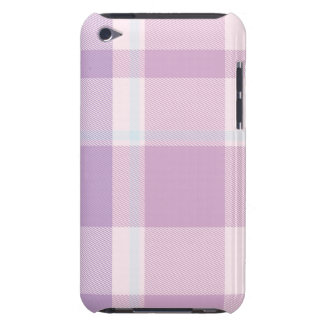 Lavender Plaid Pern iPod Touch Cover