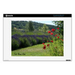 """Lavender & Poppies Zazzle Skin Decal For 13"""" Laptop"""