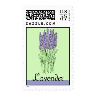Lavender postage