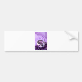 Lavender Purple Amethyst Diamond Bumper Sticker