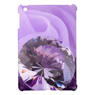 Lavender Purple Amethyst Diamond iPad Mini Case