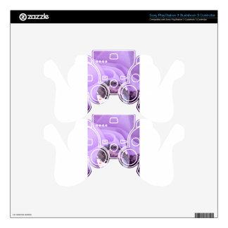 Lavender Purple Amethyst Diamond PS3 Controller Decals