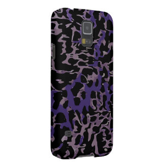 Lavender Purple Cheetah Abstract Cases For Galaxy S5