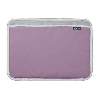 Lavender Purple High End Solid Color Sleeve For MacBook Air