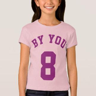 Lavender & Purple Kids | Sports Jersey Design T-Shirt