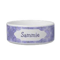 Lavender, Purple, Mauve Star Pattern to Customize Bowl