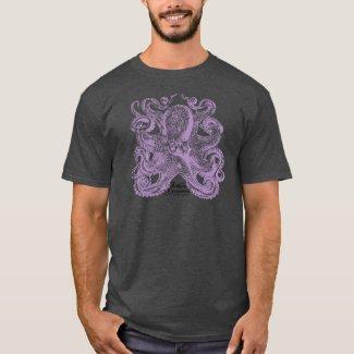 Lavender Purple Octopus T-Shirt