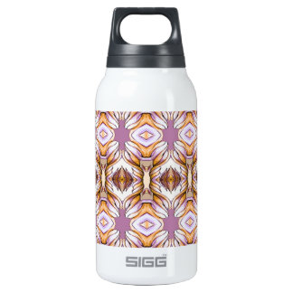lavender purple pale yellow gold insulated water bottle