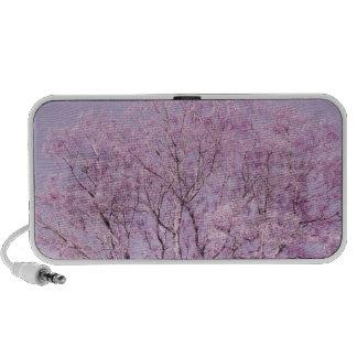 Lavender Purple Tree Photograph iPhone Speaker