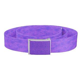 Lavender Purple Wash Belt