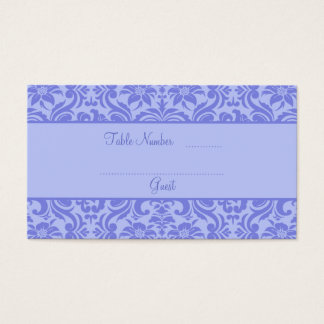 Lavender Purple Wedding Reception Table Place Card