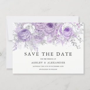 Save The Date Holiday Christmas Cards