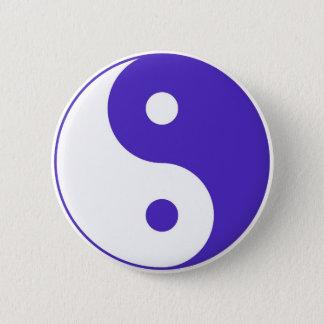 Lavender Purple Yin-Yang Button