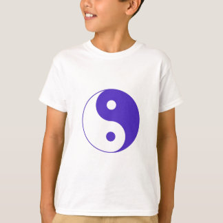Lavender Purple Yin-Yang T-Shirt