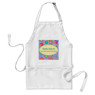 Lavender Quilt Art Blocks Apron