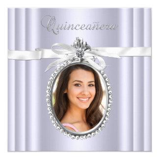 Lavender Quinceanera Card