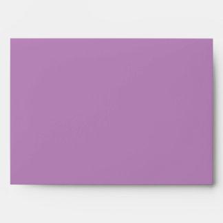 Lavender reflection envelope