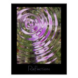 Lavender Reflections Posters