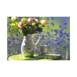 Lavender Relaxation Canvas Print