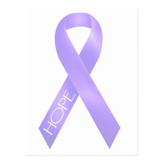 Lavender Ribbon Postcard
