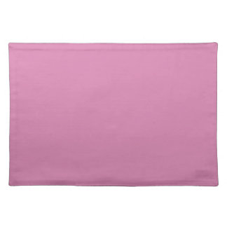 LAVENDER ROSE (a solid rosy pink color) ~ Cloth Place Mat