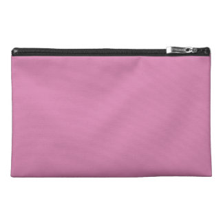 LAVENDER ROSE (a solid rosy pink color) ~ Travel Accessory Bag