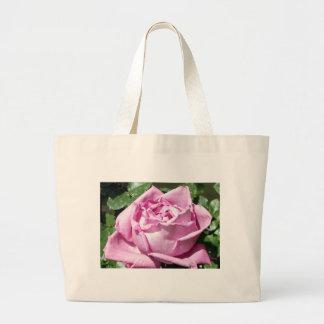Lavender Rose Canvas Bag