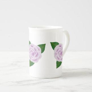 Lavender Rose Bone China Mug