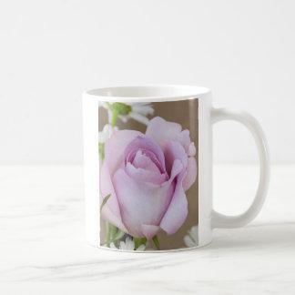 Lavender Rose Bud Coffee Mug