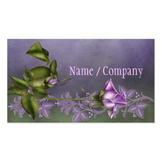 Lavender Rose Business Card