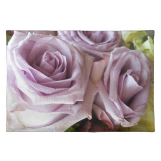 Lavender Rose Trio Placemat