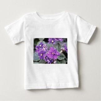 Lavender Saintpaulia 'Mr. Chips' (African Violet) Shirts