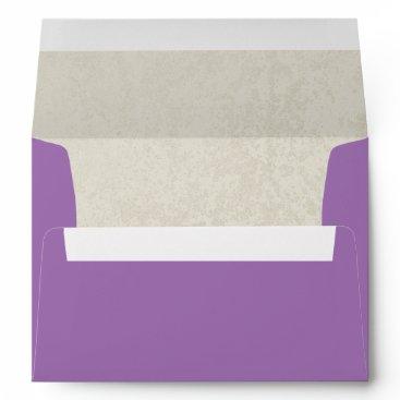 Beach Themed Lavender Sands Envelope