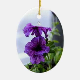 Lavender Shadow Fairy Ornament