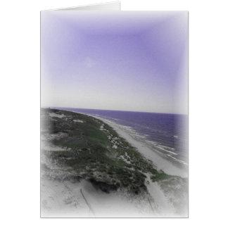 Lavender Shoreline Card