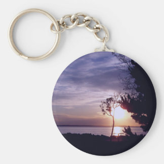 Lavender Skies Keychain