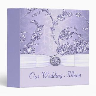 Lavender Sparkle Wonderland Wedding Binder